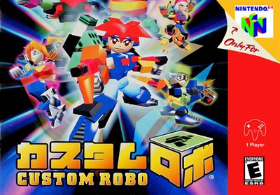 Custom Robo - Fanart - Box - Front