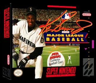 Ken Griffey Jr. Presents Major League Baseball - Box - 3D
