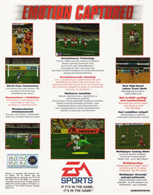 FIFA Soccer 97 - Box - Back