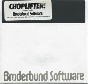 Choplifter! - Disc