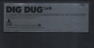 Dig Dug - Cart - Front