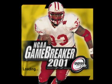 NCAA GameBreaker 2001 - Screenshot - Game Title