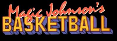 Magic Johnson's Basketball - Clear Logo
