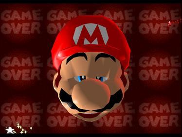 Super Mario 64 - Screenshot - Game Over