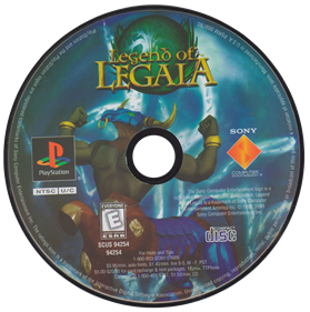 Legend of Legaia - Disc