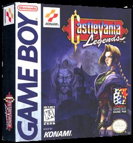 Castlevania Legends - Box - 3D