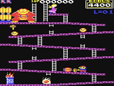 Donkey Kong (Atarisoft) - Screenshot - Gameplay