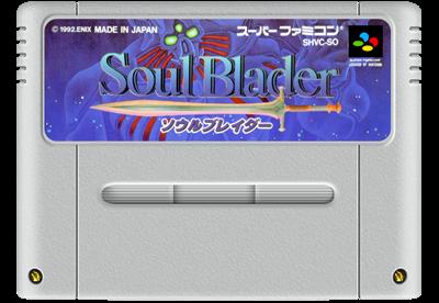 Soul Blazer - Fanart - Cart - Front