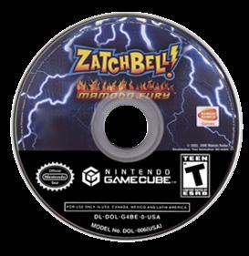 Zatch Bell! Mamodo Fury - Fanart - Disc