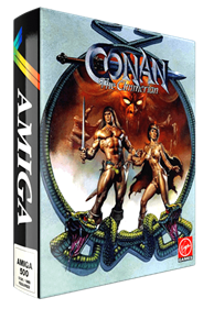 Conan: The Cimmerian - Box - 3D