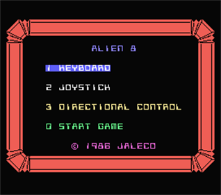 Alien 8 - Screenshot - Game Title