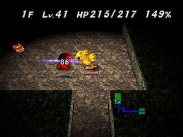 Chocobo no Fushigi na Dungeon - Screenshot - Gameplay