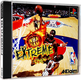 NBA Jam Extreme - Box - 3D