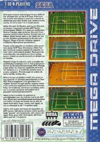 ATP Tour Championship Tennis - Box - Back