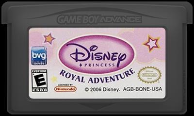 Disney Princess: Royal Adventure - Cart - Front