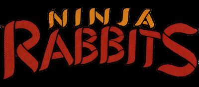 Ninja Rabbits - Clear Logo