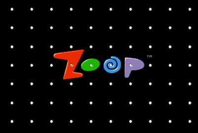 Zoop - Screenshot - Game Title