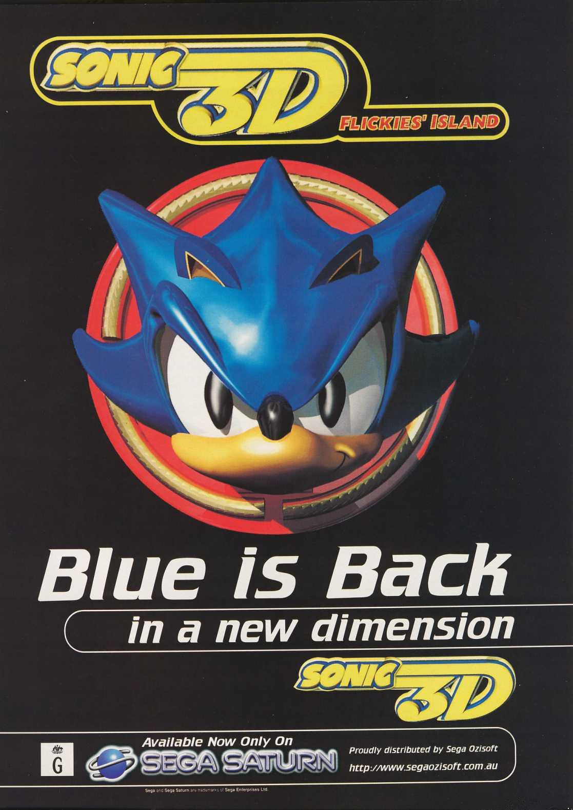 Sonic 3D Blast Details - LaunchBox Games Database