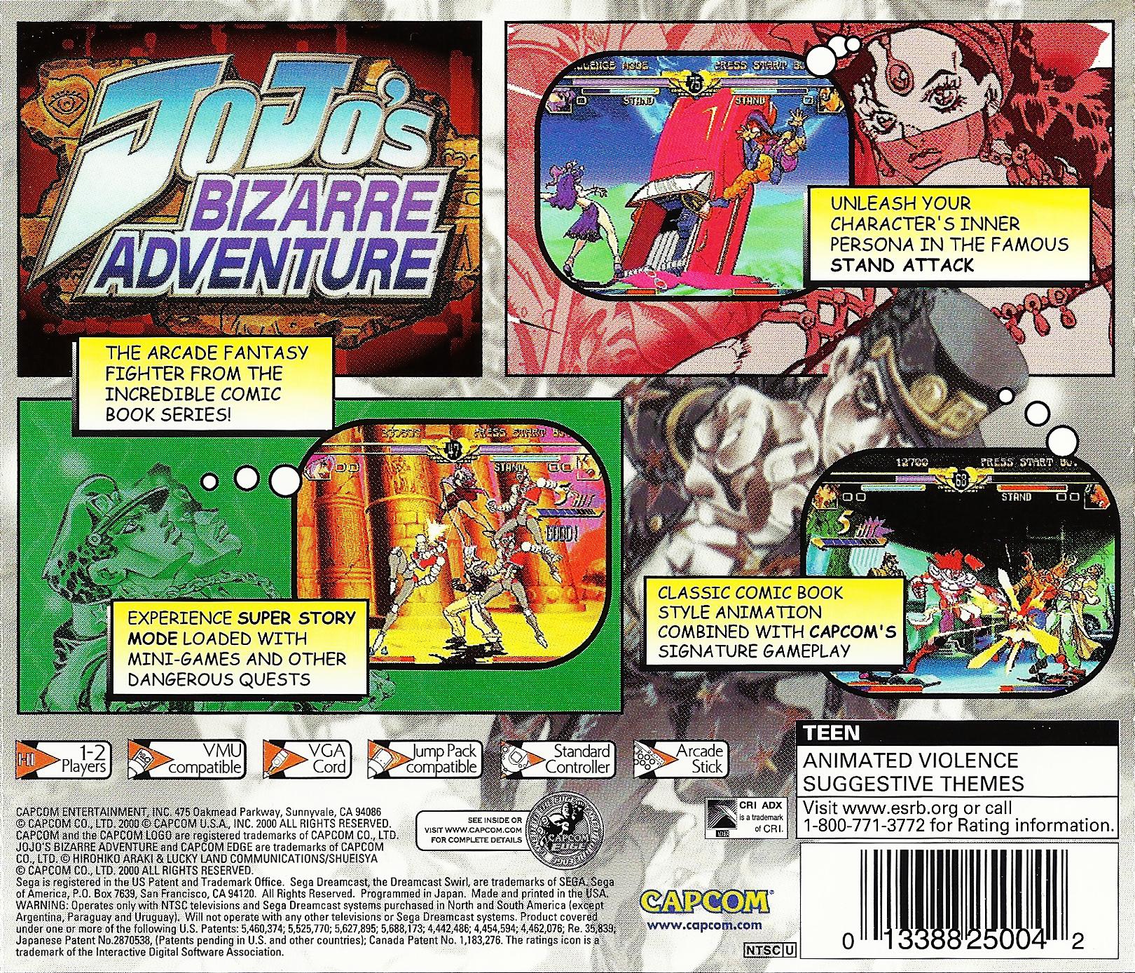 JoJo's Bizarre Adventure Details