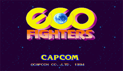 Eco Fighters - Screenshot - Game Title