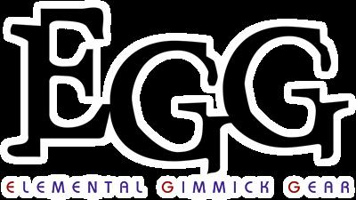 EGG: Elemental Gimmick Gear - Clear Logo