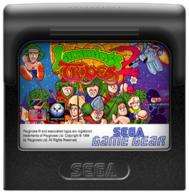 Lemmings 2: The Tribes - Fanart - Cart - Front