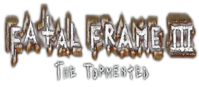 Fatal Frame III: The Tormented - Clear Logo