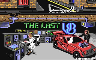 The Last V8 - Screenshot - Game Title