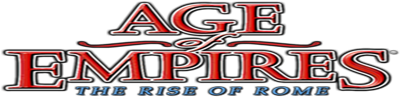 Age of Empires: The Rise of Rome - Clear Logo