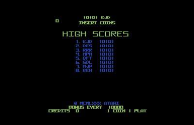 Tempest 128 - Screenshot - High Scores