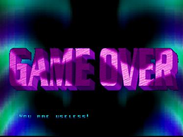 Defender 2000 - Screenshot - Game Over