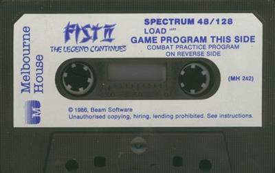 Fist II: The Legend Continues - Cart - Front