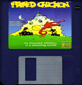 Alfred Chicken - Fanart - Disc