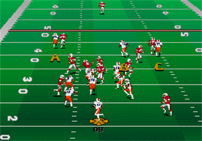College Football USA 96 - Screenshot - Gameplay