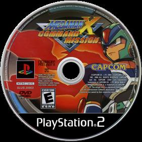 Mega Man X: Command Mission - Disc