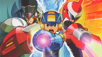 Mega Man Battle Network 5: Double Team DS - Fanart - Background