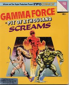 Gamma Force: The Pit of a Thousand Screams