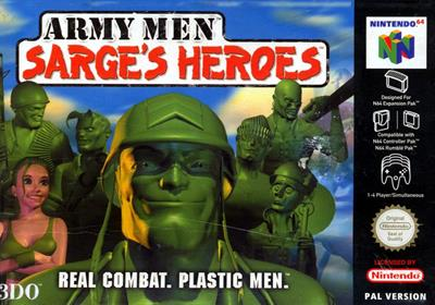Army Men: Sarge's Heroes - Box - Front