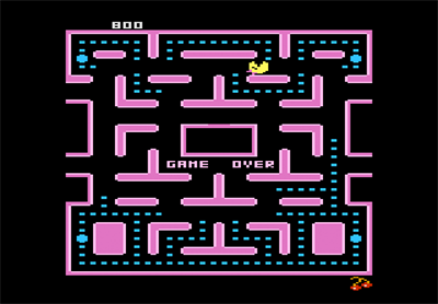 Ms. Pac-Man - Screenshot - Game Over