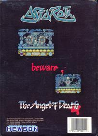 Astaroth: The Angel of Death - Box - Back