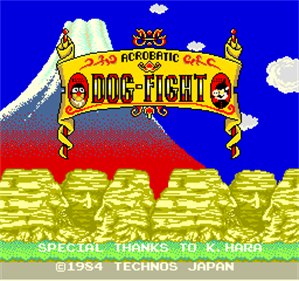 Acrobatic Dog-Fight - Screenshot - Game Title