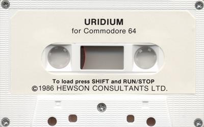 Uridium - Cart - Front