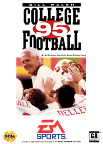 Bill Walsh College Football 95 - Box - Front