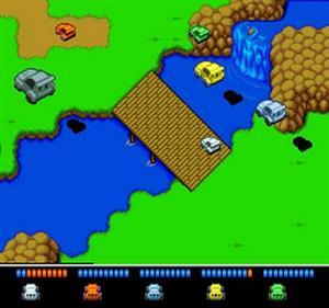 Dekoboko Densetsu: Hashiru Wagamanma - Screenshot - Gameplay