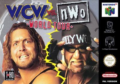 WCW Vs. nWo: World Tour - Box - Front