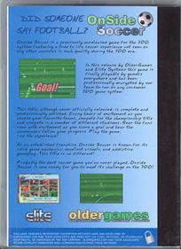 Double Header - Complete Onside Soccer and Power Slide - Box - Back