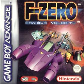 F-Zero: Maximum Velocity - Box - Front