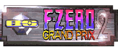 BS F-Zero Grand Prix 2 - Clear Logo
