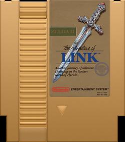 Zelda II: The Adventure of Link - Cart - Front