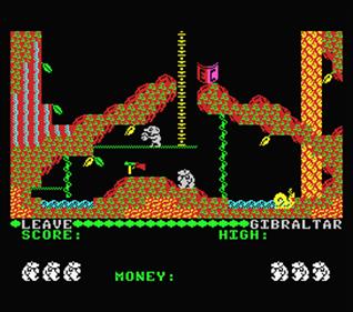 Auf Wiedersehen Monty - Screenshot - Gameplay